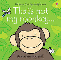 That's Not My Monkey by Fiona Watt, Board book Used Book, Acceptable, FREE & FAS