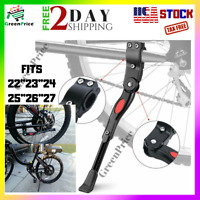 "Adjustable Aluminium Alloy Rear Bike Bicycle Kickstand Side Fit for 22 24 26"" 27"