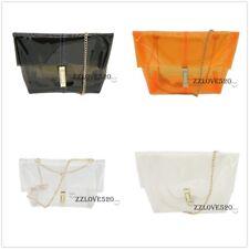 New Women's Handbag Clear Shoulder Bag Transparent Jelly Clutch Crossbody Purse