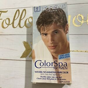 LOREAL Colorspa For Men Natural No-Ammonia Hair Color 60 Light Brown