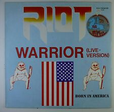"12"" LP - Riot - Born In America / Warrior (Live) - k6152 - RAR - zyx records"