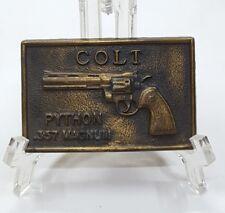 Colt Python .357 Magnum Belt Buckle
