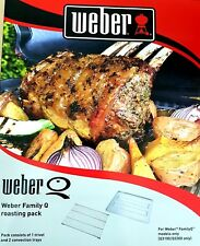 Weber® Family Q Roasting Pack (Trivet And Convection Trays)