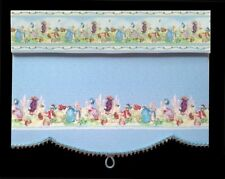 BEATRIX POTTER  PETER RABBIT  BLIND / CURTAIN FOR DOLLS HOUSE OR  ROOM BOX