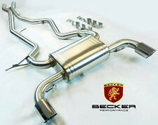 Becker Catback Exhaust For 07 08 09 10 BMW 335i 335xi  3.0L AT MT  RWD AWD 4DR