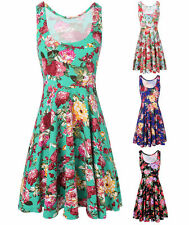 Unbranded Regular Hand-wash Only Floral Dresses for Women