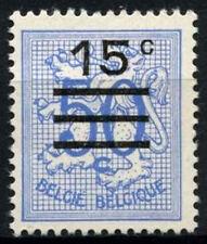Belgio 1960-8 SG # 1744, 15 quater su oppure BLUE LION definitiva MNH #D 48259