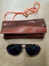 JANTZEN SUNGLASS IN CASE W/ NECK CORD  MADE IN TAIWAN VINTAGE FIND