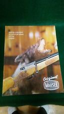 Mauser-Bauer 1973 Catalog Vintage Original Very good condition