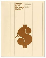 Ketron Inc. WOMEN IN THE MORTGAGE MARKET 1st ed 1976 [U.S. Dept. of Housing]