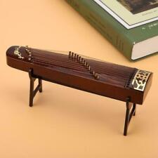 Mini Zither Miniature Wooden China Traditionelle Zupfinstrumente Modell +Unters.