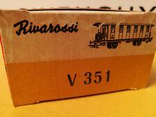 RIVAROSSI Como v 351 CARROZZA DI III CLASSE F.N.M. C 351 A Intonso Mint