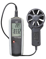 Anemometer Windmessgerät Windgeschwindigkeit Belüftungs Luftstrommesser CEM T