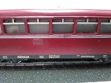 Märklin H0 DB 800 Schienenbus VT 95 9190 + VB 142 070 - 1/87 HO AC ~ OVP Rauten