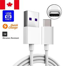 Fast Charging USB Type C Cable Samsung Galaxy S8 S9 S10e S10 Plus Note 10 8 9