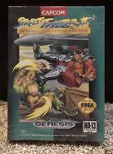 NEW SEALED Street Fighter II 2 Special Champion Edition Sega Genesis Cardboard