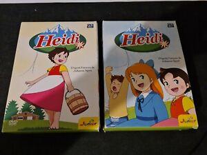 COFFRETS DVD HEIDI BOX 1 ET 2
