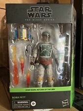 Star Wars Black Series Deluxe Boba Fett Return Of The Jedi Figure New