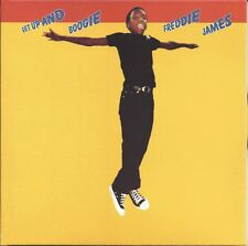 Freddie James ‎– Get Up And Boogie  New cd  Canada import