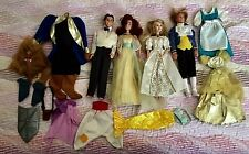 MATTEL DISNEY FASHION DOLL CLOTHES LOT BEAUTY BEAST ANASTASIA SINGING PRINCESS