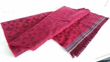 Paul Smith Scarf - BNWT Large Geo Multi Stripe / 100% Wool Scarf / RRP: £150