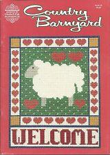 COUNTRY BARNYARD ~ DESIGNS BY GLORIA & PAT cross stitch