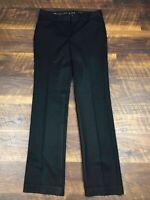 Express Design Studio EDITOR Black Slim Boot size 2R Career Women's Dress Pants