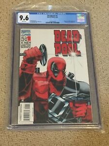 Deadpool 1 CGC 9.6 White Pages