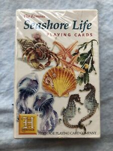 2000 The Famous Seashore Life Playing Cards NIB Sealed