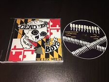 DEAD END BOYS The Last Minute - 2007 CD - Oi / Punk BALTIMORE forced reality