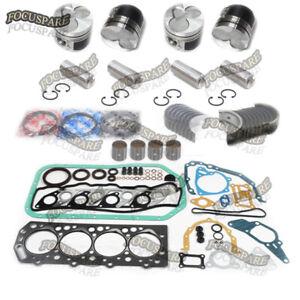 Hyundai D4BA D4BB 2.5L Engine Rebuild Kit STD For HC20-35H1 H100 Forklift Truck