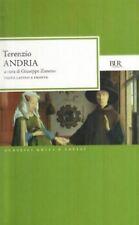 Andria, TERENZIO, TESTO LATINO A FRONTE, BUR RIZZOLI LIBRI CLASSICI
