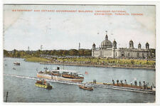 Canadian National Exhibition from Waterfront Movie Crew Toronto Canada postcard