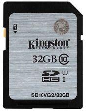 32GB SD HC Class 10 Memory Card For Canon EOS 600D Camera