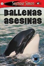 In Spanish level 1 early reader Learn to Read leveled book Killer Whales Simon