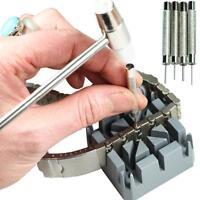 Watch Bracelet Holder Block Pin Remover Repair Tool Watch Band Strap Link LP