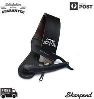 Cowhide Barber Sharpening Straight Razor Strop Shaving Strap Sharpener Belt U4V2