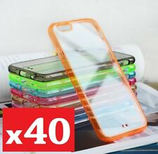 40x iphone 6 6s case cover gel bumper hard back wholesale joblot bulk