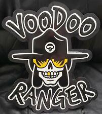 New Belgium Voodoo Ranger Logo Metal Beer Tacker Sign Craft Beer Brewery New!!!!