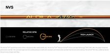 "BRAND NEW ALDILA NVS 85 R FLEX .350 TIP DRIVER SHAFT 46"" UNCUT WOOD"
