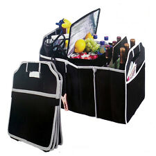 Extra Large Car Auto Trunk Organizer with 3 Compartments Fad  MC ZT