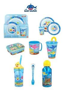 PINKFONG BABY SHARK World-7 Character Items Breakfast Sets,3D Tumblers,Bottle