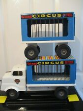 Vintage Triang Circus on Tour Truck and Trailer 1960s