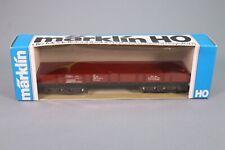 ZJ015 MARKLIN Wagon Ho 4473 Plateforme Rimms DB 398 0 247-4 3 voies