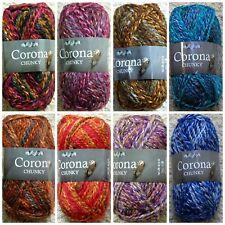 Knitting Wool 100g Corona Chunky Yarn Tweed Chunky King Cole