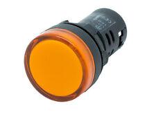 L22 ATI Amber LED Pilot Panel Indicator Light 22mm 12V DC