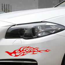 Car Flame Racing 11.5'' Bumper Hood Decal sticker 2pcs CN72 for CAMRY COROLLA