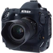 easyCover Nikon D4S EA-ECND4SB Camera Protective Case Black Silicone