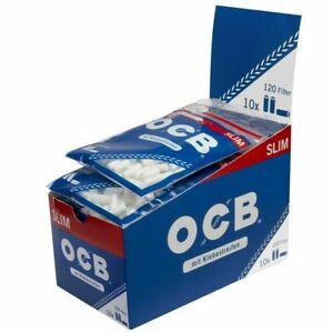 OCB FILTER SLIM mit Klebestreifen 6mm Drehfilter