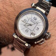 "Bulova Automatic ""Cartier Pasha"" Ultra Rare Men Vintage Watch Stunning"
